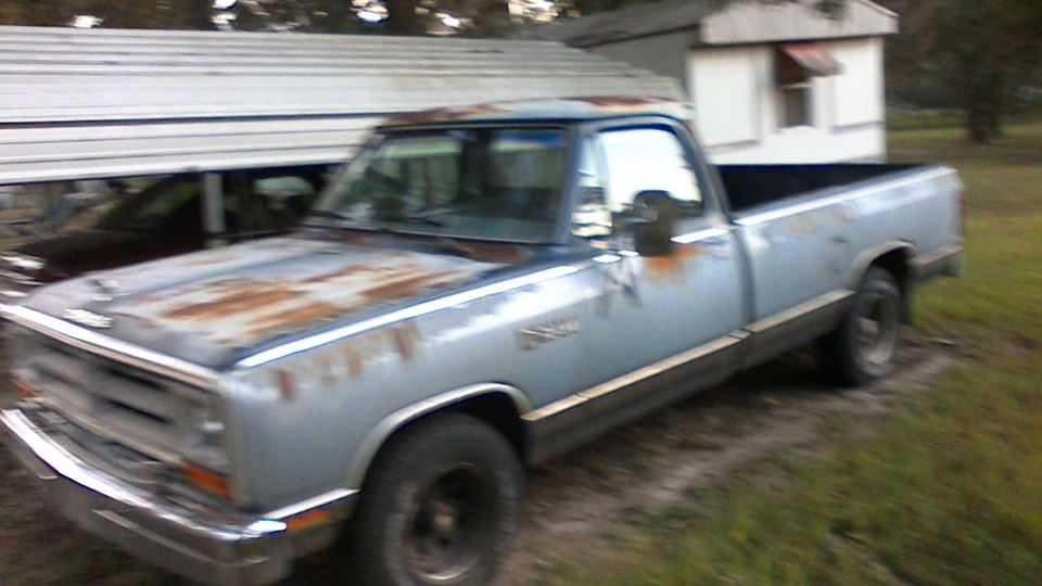 Old Dodge Ram >> Dodge Ram Old Blue Drivn