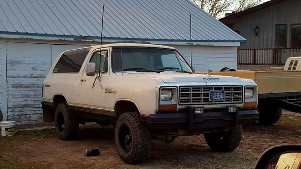 Dodge Ramcharger The Beast Drivn