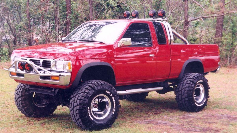 Nissan pickup big red drivn - Garage nissan 94 creteil ...