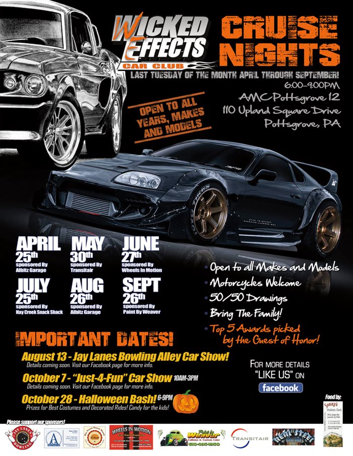 Wicked Effects Car Club Cruise Nights - Drivn