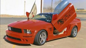 Ford Mustang Tribal Horse