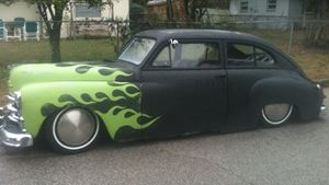 Plymouth Deluxe rat rod