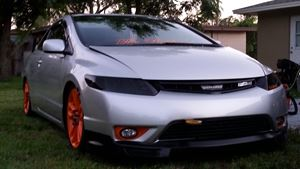 Honda Civic Si chester cheetah