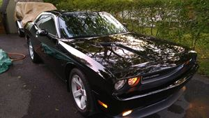 Dodge Challenger Black Beauty