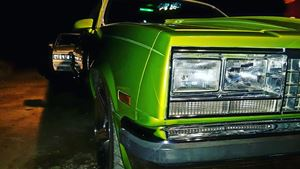 Chevrolet El Camino Simple Green