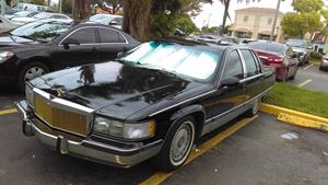 Cadillac Fleetwood Black Beauty
