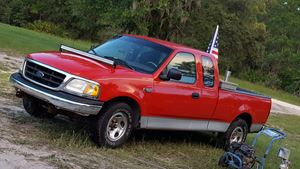 Ford F-Series ol red