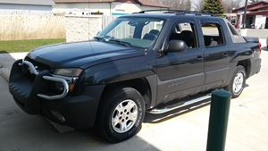 Chevrolet Avalanche Clean for a michigan truc