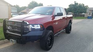 Ram Truck 1500 Red Betty