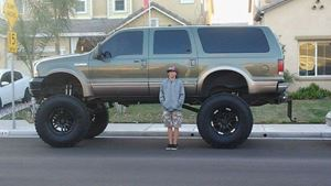 Ford Excursion Out to kill
