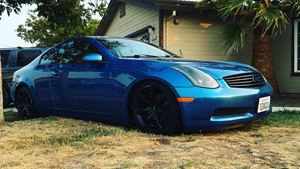 Infiniti G35 Coupe The Finit