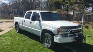 GMC Sierra White lightning