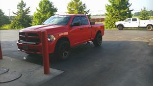Ram Truck 1500 Big Red