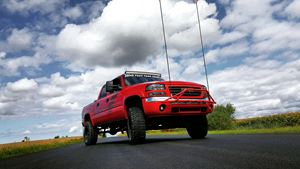 GMC Sierra Big red