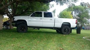 Chevrolet Silverado Snow White