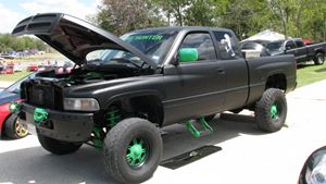 Dodge Ram Zombie hunter