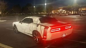 Dodge Challenger WHITE SCORPION
