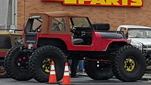 Jeep CJ The Juggernaut