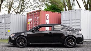 Scion tC Black Angel