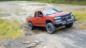 Chevrolet Colorado Old Orange