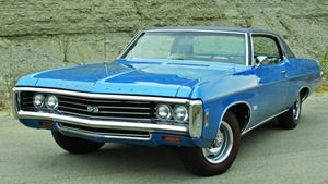 Chevrolet Impala Blue Ship