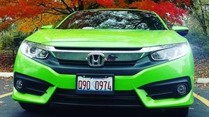 Honda Civic Green machine