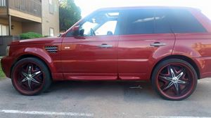 Land Rover Range Rover Sport red riding hood