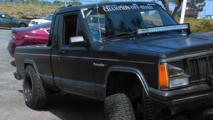 Jeep Comanche Dirty lil whore