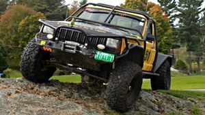 Jeep Comanche Generation next off-road