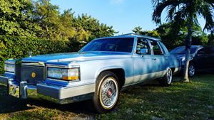 Cadillac Brougham Sexy Blue King