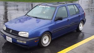 Volkswagen Golf GTI The blue Bandit