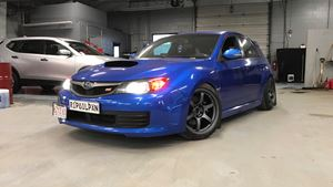 Subaru Impreza WRX STI Ruined