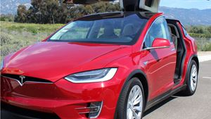 Tesla Model X Dream Car