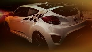 Hyundai Veloster Turbo Lady