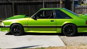 Ford Mustang 1988 Green Machine