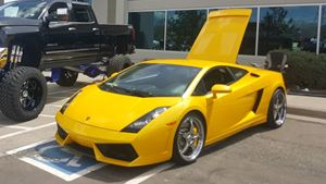 Lamborghini Gallardo Drop out