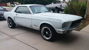 Ford Mustang 68 5-0 Project