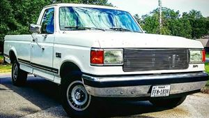 Ford F-Series White lightning