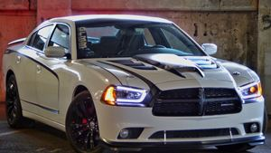 Dodge Charger Lady-White Tiger