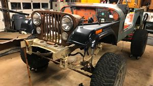 Jeep CJ Frankenstein
