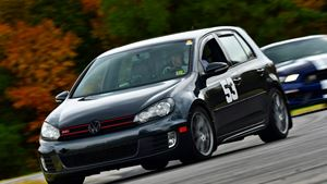 Volkswagen Golf GTI Because Racecar
