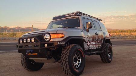 Toyota FJ Cruiser The Rock