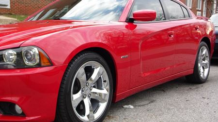 Dodge Charger Red Machine