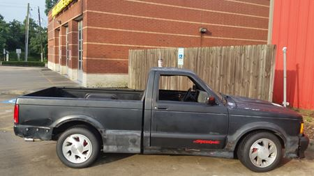 GMC Syclone Barn Find