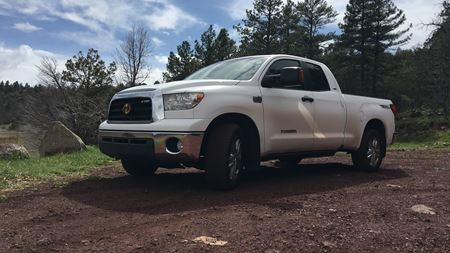 Toyota Tundra Supercharged - Dash