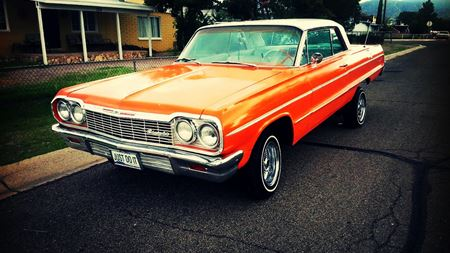 Chevrolet Impala orange juice