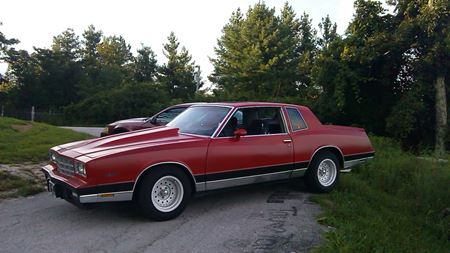 Chevrolet Monte Carlo The Red Knight