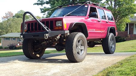 Jeep Cherokee Rowdy rebel
