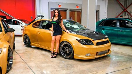 Scion tC Golden Boy
