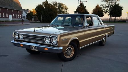 Plymouth Belvedere Golden chariot